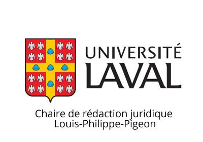 Chair on Legal Writing Louis-Philippe-Pigeon